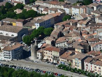 8 - La tour de l'horloge d'Anduze - Gard