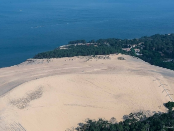 8 - Dune du Pilat - Escaliers et crête