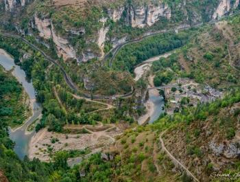 8 - Sainte Enimie et le Tarn