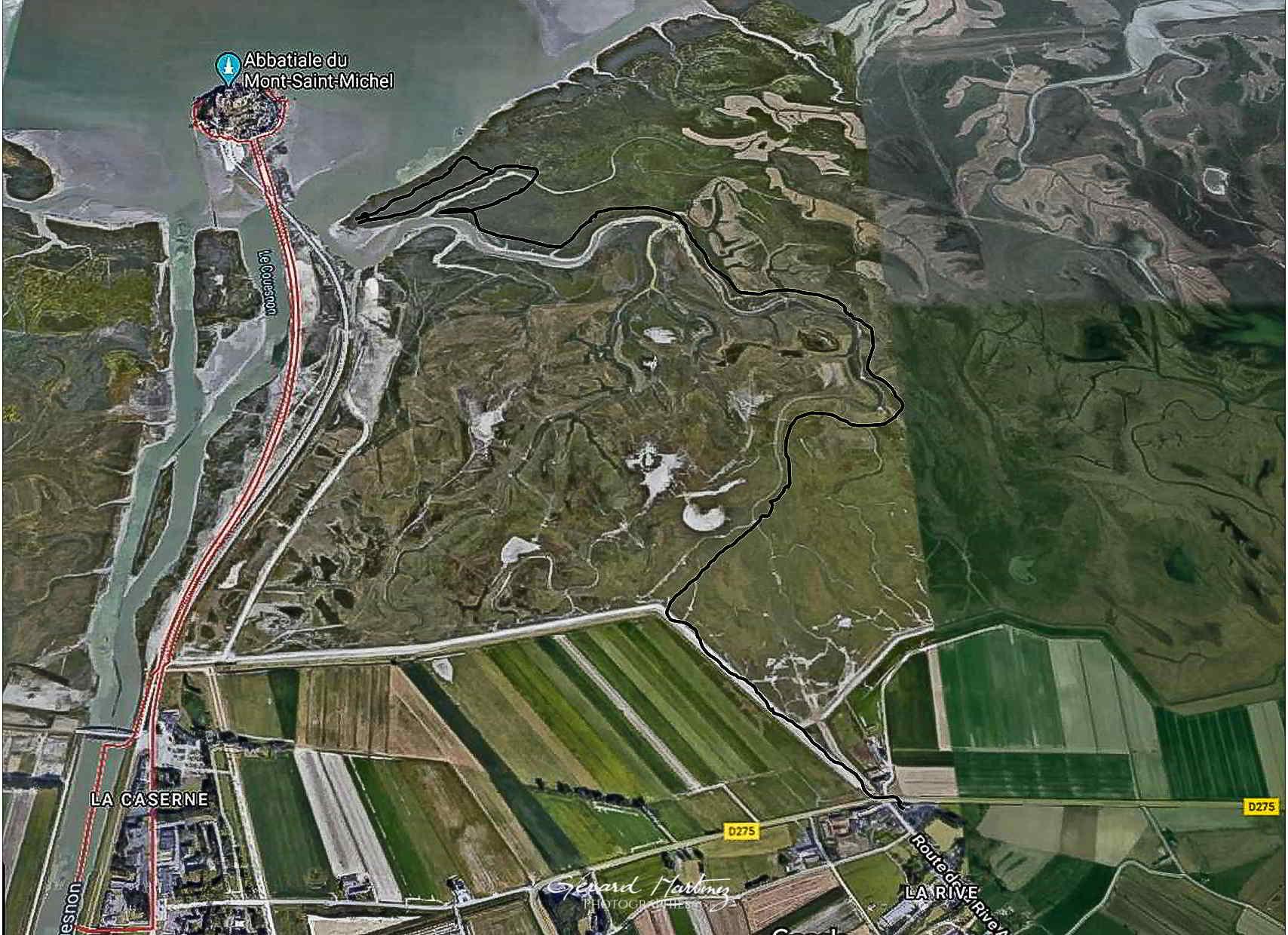 Itinéraire Google Maps